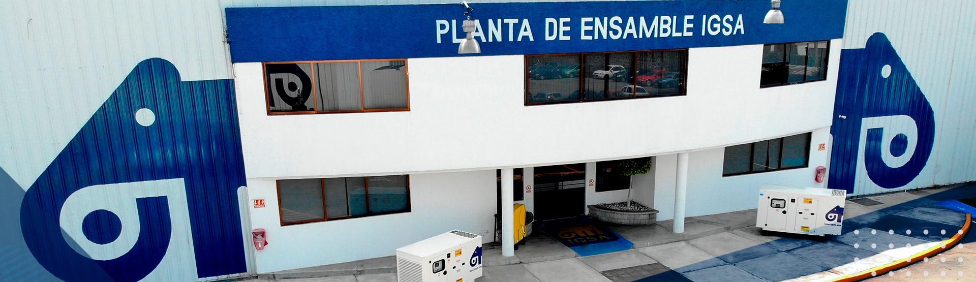 plantas de emergencia IGSA México